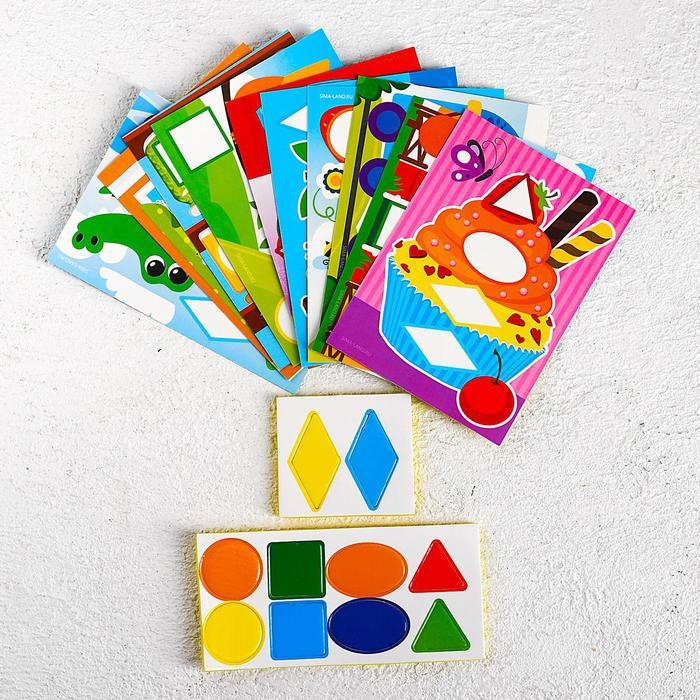Мозаика для детей с шаблонами Мир вокруг