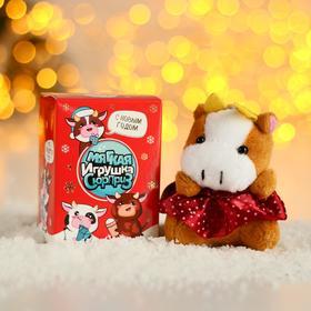 Мягкая игрушка «Новогодние бычки», МИКС Ош