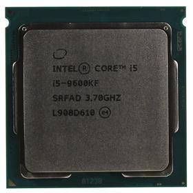 Процессор Intel Core i5 9600KF, LGA1151v2, 6х3.7ГГц, DDR4 2666МГц, TDP 95Вт, OEM
