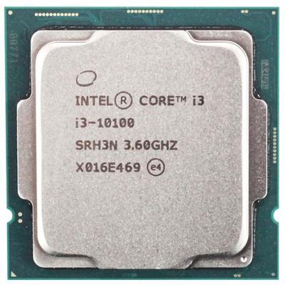 Процессор Intel Core i3 10100 Original, LGA1200, 4x3.6ГГц, 2666МГц, UHD 630, TDP 65Вт, Box