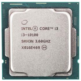 Процессор Intel Core i3 10100 Original, LGA1200, 4x3.6ГГц, 2666МГц, UHD 630, TDP 65Вт, OEM