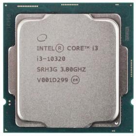 Процессор Intel Core i3 10320 Original, LGA1200, 4x3.8ГГц, 2666МГц, UHD 630, TDP 65Вт, OEM