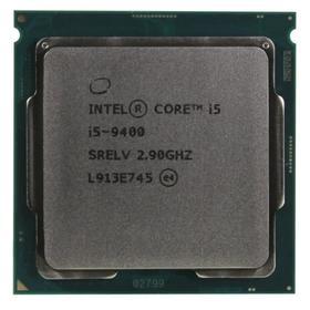 Процессор Intel Core i5 9400 Original, LGA1151v2, 6х2.9ГГц, 2666МГц, UHD630, TDP 65Вт, OEM