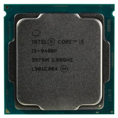 Процессор Intel Core i5 9400F Original, LGA1151v2, 6х2.9ГГц, DDR4 2666МГц, TDP 65Вт, OEM