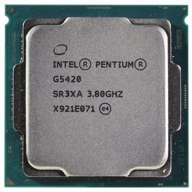 Процессор Intel Pentium Gold G5420 Original, LGA1151v2, 2x3.8ГГц, UHD610, TDP 54Вт, Box