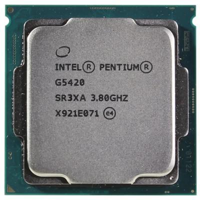 Процессор Intel Pentium Gold G5420 Original, LGA1151v2, 2x3.8ГГц, UHD610, TDP 54Вт, OEM