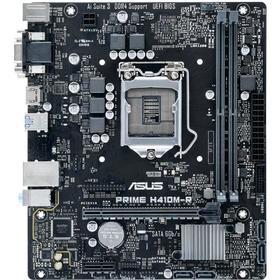 Материнская плата Asus PRIME H410M-R-SI, LGA1200, H410, 2xDDR4, VGA, DVI, HDMI, mATX