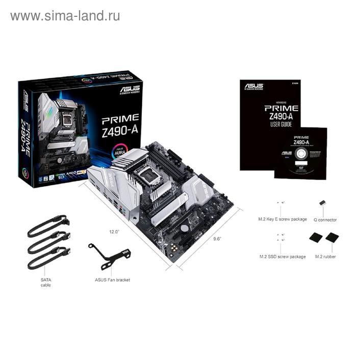 Материнская плата Asus PRIME Z490-A, LGA1200, Z490, 4xDDR4, HDMI, DP, ATX