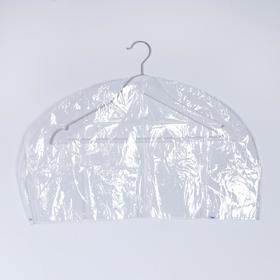 Чехол для одежды 60×30 см, прозрачный Ош