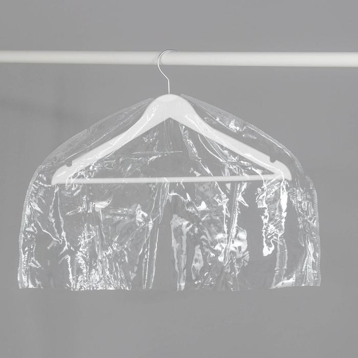 Чехол для одежды 6030 см, прозрачный