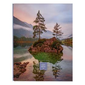 Тетрадь на кольцах 120 листов в клетку 'Красота природы', со сменным блоком, глянцевая ламинация, блок офсет, белизна 92-94% Ош