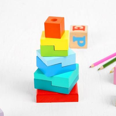 Пирамидка «Ступеньки», 8 элементов - Фото 1
