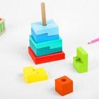 Пирамидка «Ступеньки», 8 элементов - Фото 2