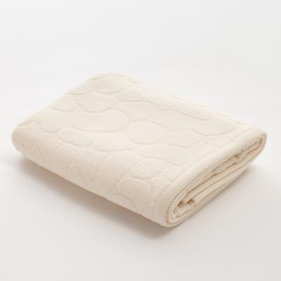 Полотенце махровое Этель Marble 50*90 см, цв. белый 100% хл, 500 гр/м2 - Фото 1