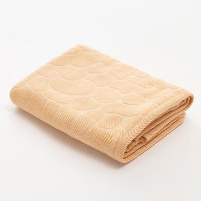Полотенце махровое Этель Marble 50*90 см, цв. бежевый 100% хл, 500 гр/м2 - Фото 1