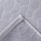Полотенце махровое Этель Marble 50*90 см, цв. серый 100% хл, 500 гр/м2 - Фото 3