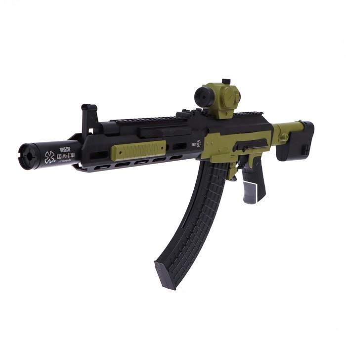Автомат SWAT, стреляет пульками, 6 мм