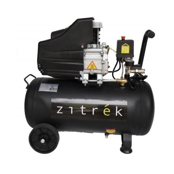 Компрессор поршневой коаксиальный Zitrek z3k320/24, 1.8 кВт, 24 л, 320 л/мин, 8 бар, рапид