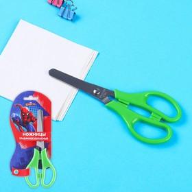 Ножницы детские 12 см, безопасные, пластиковые ручки, Человек-Паук, МИКС Ош