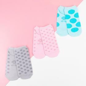 Набор женских носков укороченных KAFTAN 'Геометрия',  (3 пары) , р. 36-39 (23-25 см) Ош