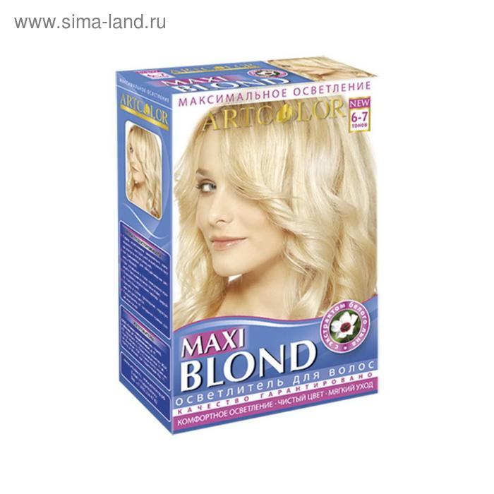 Макси Блонд АртКолор осветлитель для волос 3 в 1