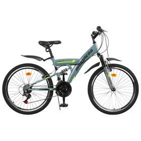 Велосипед 24' Progress модель Sierra FS RUS, цвет серый, размер 15' Ош