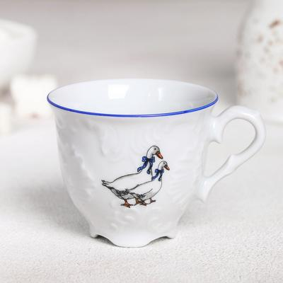 Чашка кофейная «Рококо Гуси», 100 мл - Фото 1