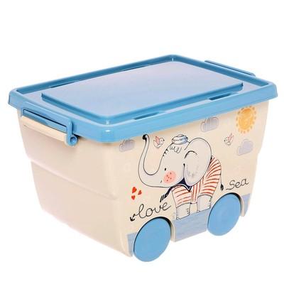 Ящик для игрушек «Слоник», ДЕКО, 23 л - Фото 1