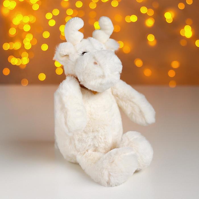 Мягкая игрушка Белый лосик