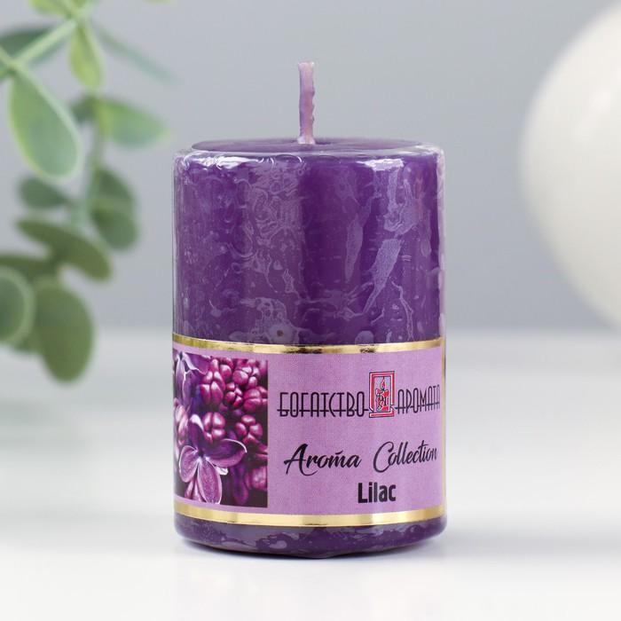 """Свеча ароматическая """"Сирень"""", 4×6 см, в коробке"""