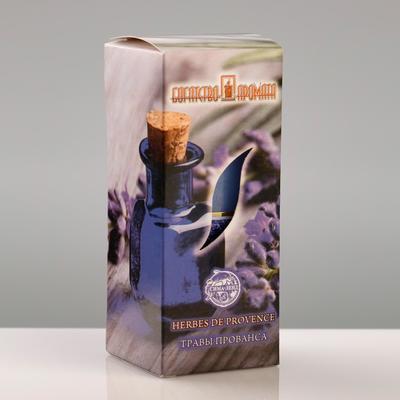 """Свеча ароматическая """"Травы прованса"""", 4×6 см, в коробке - Фото 1"""