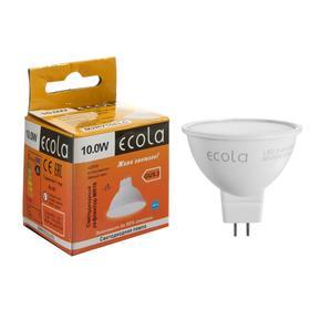 Лампа светодиодная  Ecola MR16, 5 Вт, GU5.3, 6000 К, 220 В, 48х50 мм, матовая