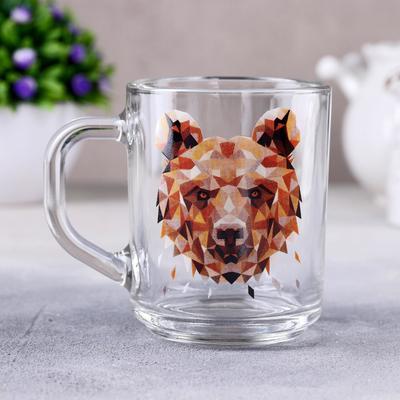 Кружка Animals «Медведь», 200 мл, в подарочной упаковке - Фото 1