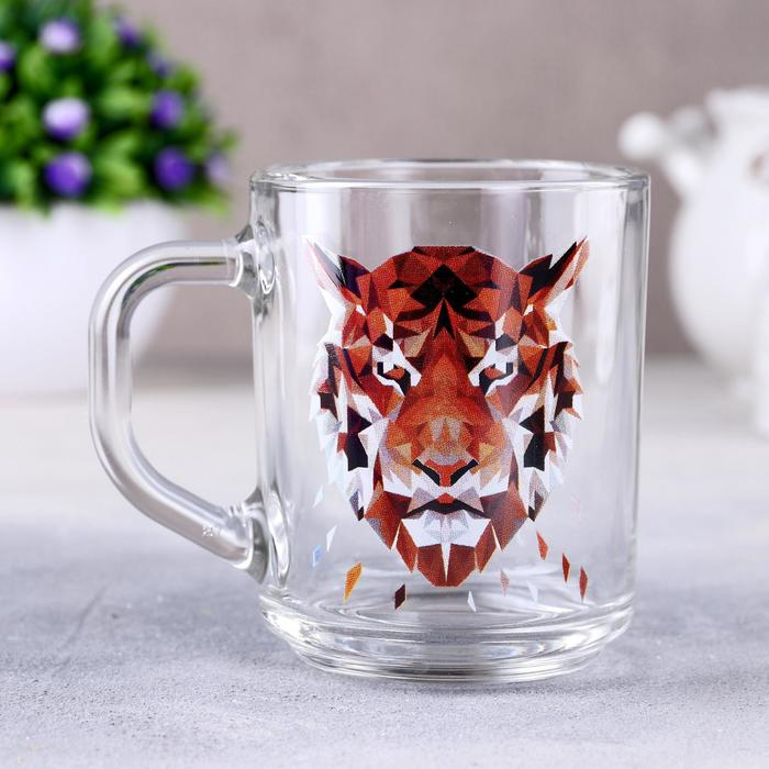 Кружка Animals Тигр, 200 мл, в подарочной упаковке