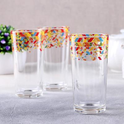 Набор стаканов «Абстракция», 230 мл, 3 шт