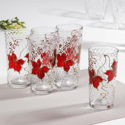 Набор стаканов «Вальс», 230 мл, 6 шт, в подарочной упаковке