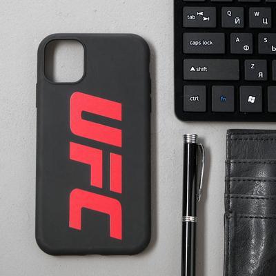 Чехол клип-кейс Red Line UFC для iPhone 11, черный