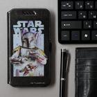 """Чехол Red Line iBox Art Универсальный размер L (5""""-6""""), Star Wars №1, чёрный"""