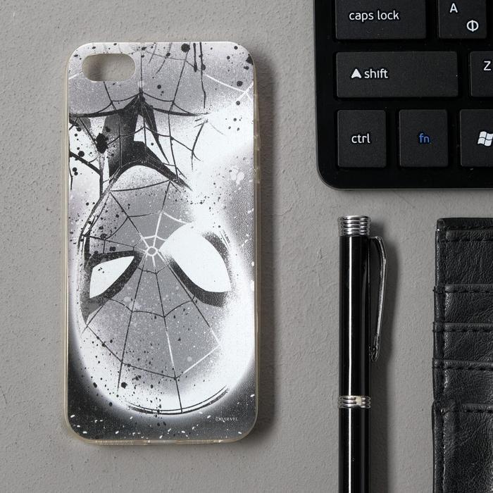 Чехол Red Line iBox Art iPhone 5/5S/5SE, силиконовый, Marvel №12