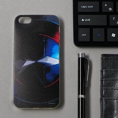Чехол Red Line iBox Art iPhone 5/5S/5SE, силиконовый, Marvel №13