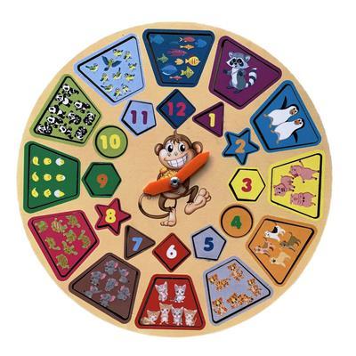 Игровой набор, часики «Животные»