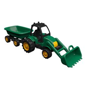 Трактор с прицепом и ковшом, 60 см
