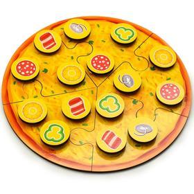 Пазл «Собери Пиццу мясную»