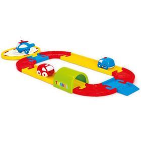 Игровой набор, круговая дорога с машинками, 24 детали