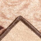 Палас «МЕДЕО» 100х150 см, цвет бежевый - Фото 3