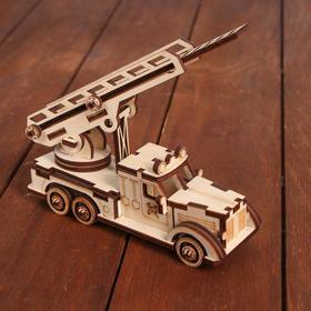 Cборная модель «Пожарная машина»