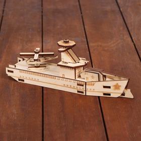 Cборная модель «Военный корабль»
