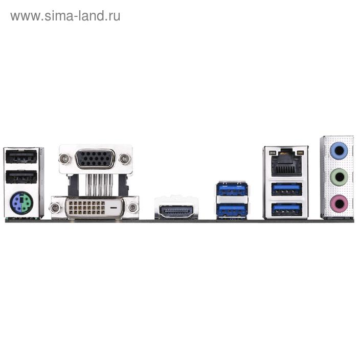 Материнская плата Gigabyte B365M DS3H, LGA1151v2, B365, 4xDDR4, VGA, DVI, HDMI, mATX