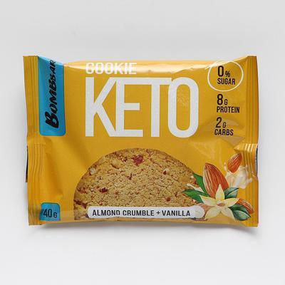 Печенье «КЕТО», миндальная крамбала с ванилью, 40 г - Фото 1