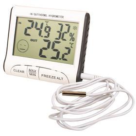 Термогигрометр цифровой с выносным датчиком Ош